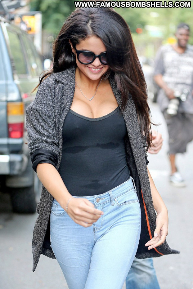 Selena Gomez Usa See Through Babe Celebrity Beautiful Posing Hot